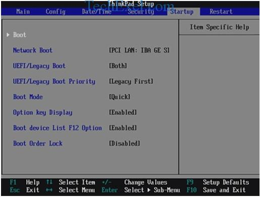Disable - Enable UEFI Boot to Fix Reboot and Select Proper Boot Device