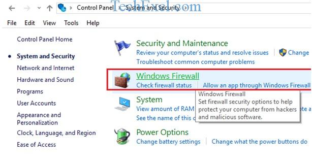 Windows Firewall - Ethernet Doesn't Have a Valid IP Configuration