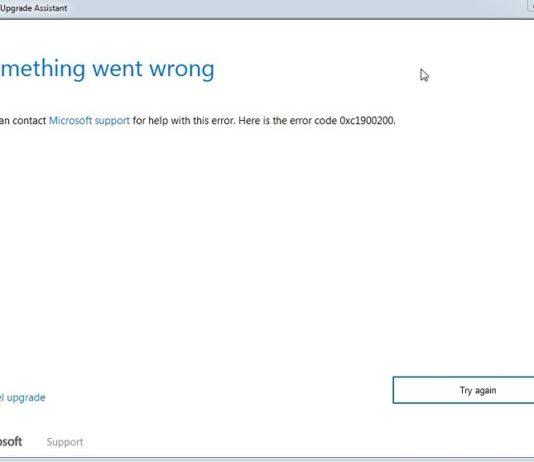How to Fix Update Error 0xc1900200 in Windows 10
