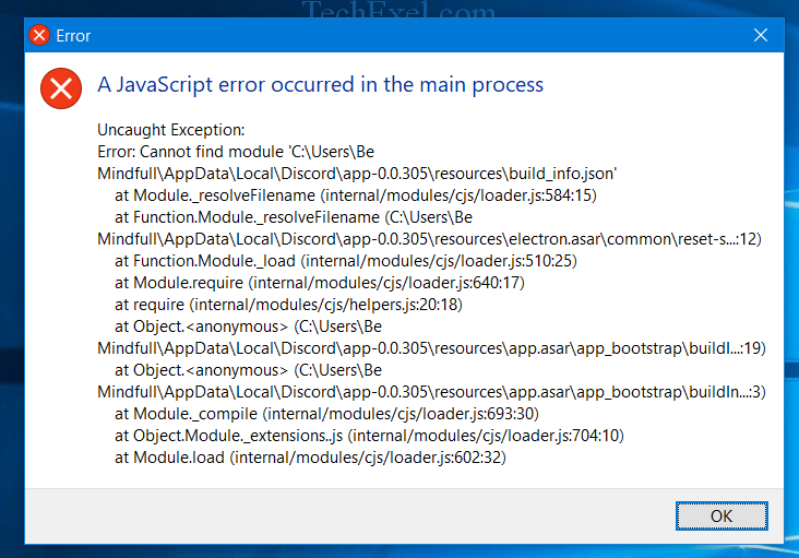 Discord JavaScript Error [SOLVED] - Tech Exel