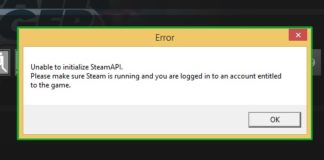 How to Fix Unable to initialize Steam API in Windows 10, 8 and 7