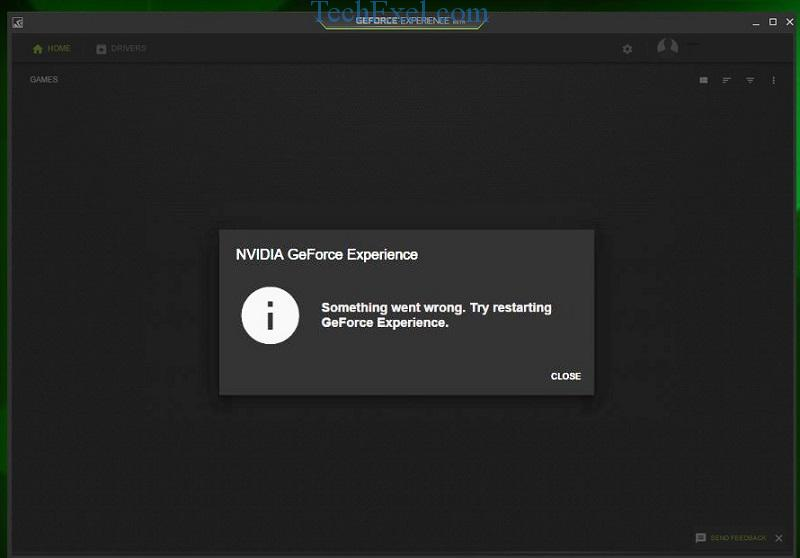NVIDIA GeForce Experience Won't Open in Windows 10, 8 and 7
