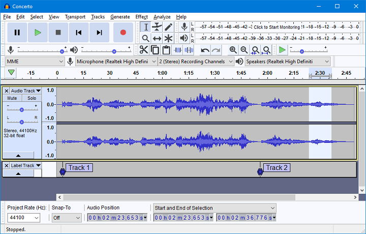 Audacity Program for Podcasters