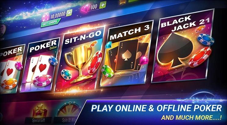 Poker Offline for Offline Players